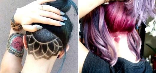 Undercut Hair Tattoos